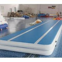 Buy cheap Gas Tight  Gymnastics Air Mat , High Strength Bounce Mat With Good Glue from wholesalers