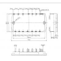 Buy cheap IGBT Power Module 7MBR50NF060-10 600V/50A/PIM  FUJITSU IGBT Power Module product