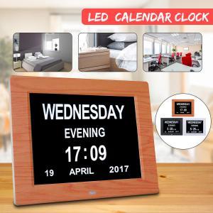 China 800x600 Digital Calendar Clock 5V 1A Greeting Card Folder on sale