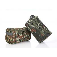 Buy cheap Convenient Zipper Side Travel Cosmetic Bags Large Capacity With Arc Shaped Hook from wholesalers