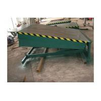 Buy cheap 8 ton hydraulic fixed dock leveler / electric dock leveler, 8000kg forklift container ramp product