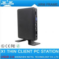 Buy cheap Linux Thin Client Mini PC Station X1 with All Winner A20 CPU Linux 3.0 OS RDP 7.0 Protocol from wholesalers