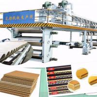 Buy cheap 5 Ply 3 Ply Corrugated Box Making Machinery Color Customized from wholesalers