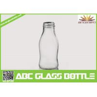 Buy cheap Regular clear 250 ml glass bottles for juice from wholesalers
