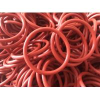 Buy cheap Versatile Orange Color Rubber O Rings , Hydraulic O Rings Seals Prevent Fluid Leakage from wholesalers