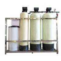 Buy cheap FRP TANK Automatic FLECK Fleck Water Softener Unit , Industrial Water Softener from wholesalers