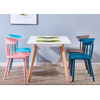 Buy cheap Windsor Home Furniture Square Plastic Dining Chairs from wholesalers