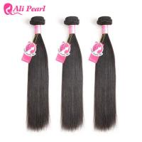 Buy cheap Unprocessed 8A Malaysian Straight Hair Bundle Deals Weft Weave For Black Ladies from wholesalers