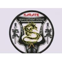 Buy cheap Karate Embroidered Patches from wholesalers