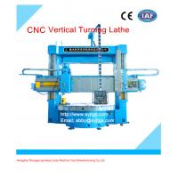 Buy cheap 4 Jaw Chuck Dual Turret Vertical lathe price from wholesalers
