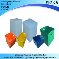 Buy cheap Polypropylene Corrugated Plastic Nestable Box from wholesalers