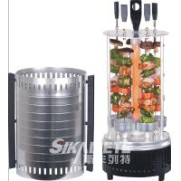 Buy cheap CE certificated vertical electric grill black color  SC-KG10 with s/s skewers,aluminium shell from wholesalers