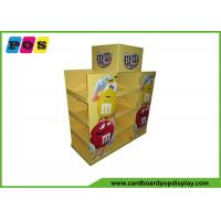 Promotional Advertising Cardboard Pop Up Display For M&M Candies PA015