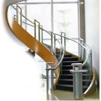 Buy cheap Balcony Stainless Steel Handrails Glass Balustrade , Stainless Steel Deck Railing from wholesalers