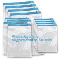 Buy cheap vacuum space bag with hanger, canvas vacuum bag for bedding, vacuum storage bag for home storage, bagplastics, pacrite from wholesalers