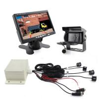 Buy cheap vehicle surveillance Video Reverse Parking Sensor With truck reversing cameras from wholesalers