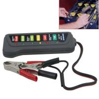 Buy cheap 12V Digital Automotive Battery Tester Alternator Tester With 6 LED Lights Display from wholesalers