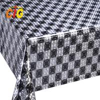 Buy cheap Colorful Custom PVC Shiny Tablecloth Thickness Roll 0.18 Mm Width 137cm product