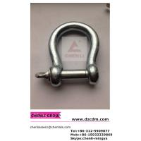 Buy cheap European type large bow shackle from wholesalers