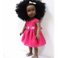 Buy cheap 18 Inches  vinyl African American dolls with skirts from wholesalers
