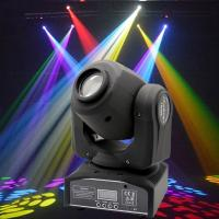Buy cheap Plastic Professional DMX512 Moving Head Light 30 - Watt  For Concert Lighting from wholesalers