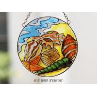 Buy cheap Art hanging Stained Glass Suncatcher decorations with design and logo are welcomed from wholesalers