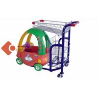 Buy cheap Cold Wire Steel Childrens Shopping Cart Supermarket Shopping Trolley from wholesalers