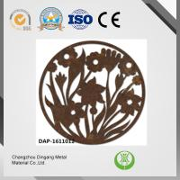 Buy cheap Rusting Effect Laser Cut Corten Steel Excellent Paintability And Machinability from wholesalers
