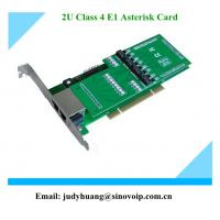 Buy cheap Pci pri card support EC module for 4 ports from wholesalers