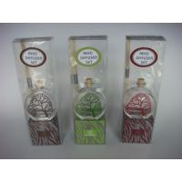 Buy cheap flat glass reed diffuser gift set from wholesalers