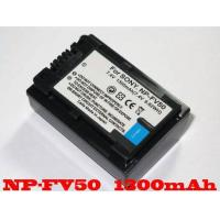 Buy cheap Np-Fv50 Decoded Camcorder Battery Sony Fv70 Fv100 Cx550/E Xr550/E from wholesalers