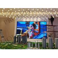Buy cheap High Gray Scale Small Pixel Pitch LED Display Video Board For Command Centre from wholesalers