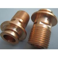 Buy cheap Screw CNC Turning Components For Antenna / Brass Precision Turned Parts from wholesalers