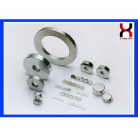 Buy cheap Brute Force NdFeB Permanent Magnet In Zinc / Nickel / Color Zinc Appearance product
