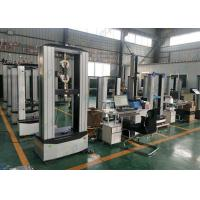 Buy cheap Compact UTM Universal Testing Machine Manual Wedge Fixture Long Life Time from wholesalers