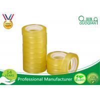BOPP Acrylic Transparent Fragile Packing Tape , Custom Packaging Tape Light Weight