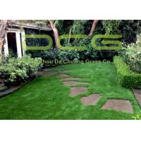 4 Colors Fireproof Outdoor Grass Carpet 12000 Dtex SGS Fire Resistance