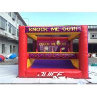 Buy cheap Amusement Park Kids Inflatable Interactive Games Knock Me Off And Out from wholesalers