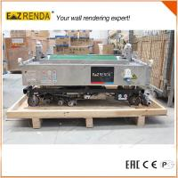Buy cheap Brick Wall Mechanical Plastering Machine , Cement Rendering Machine High Speed from wholesalers