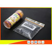 Buy cheap  High Clarity Resealable Resealable Freezer Zip Lock Bags For Frozen Food from wholesalers