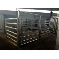 Buy cheap Corrosion Resistant Livestock Cattle , Cattle Corral Panels Easily Assembled from wholesalers