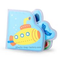 Buy cheap Blue underwater world baby bath book / EVA education book for kids playing from wholesalers