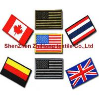 Buy cheap Embroidery Velcro  hook loop tactical badge/medal/epaulet/armband from wholesalers