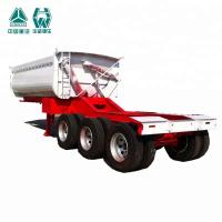 Buy cheap Heavy Duty Tipper Semi Trailer With Extra Durability I Beam Chassis from wholesalers