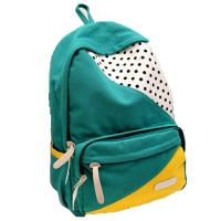 Buy cheap ECO Friendly Green Pretty Outdoor Sports Backpack Canvas Back Pack Personalized product
