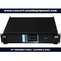 Buy cheap High Stability Switch Mode Amplifier 2x2400W FP 14000 For Living Show And Concert product