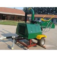 Buy cheap Trailer Mounted Wood Chipper with Engine from wholesalers