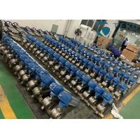 Buy cheap Stainless Steel V Port Pneumatic Segment Ball Valve For Paper & Pulp from wholesalers