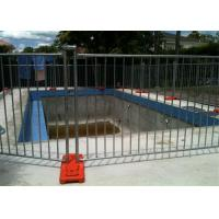 Buy cheap 42 Microns Detachable Pool Fence / Baby Barrier Pool Fence Portable 300gram from wholesalers