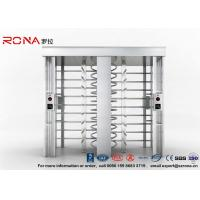 Buy cheap Automatic Security Full Height Turnstile Double Lane With Impact Resistance With 304# Stainless Steel product